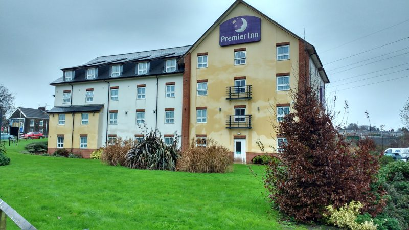 Premier Inn After Render Clean
